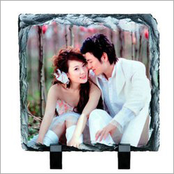 Square Rock Stone Picture Frames