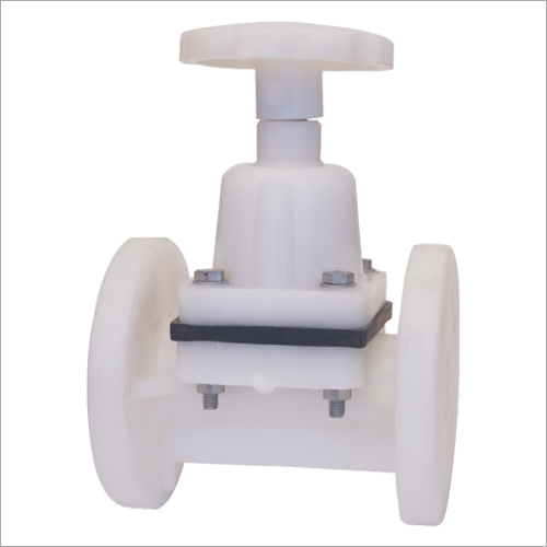PP Flanged Diaphragm Valve