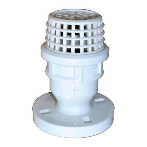 PP Threaded Flanged End Foot Valve