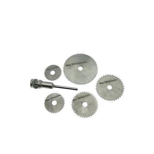 408 -6pcs Metal HSS Circular Saw Blade Set Cutting Discs for Rotary Tool