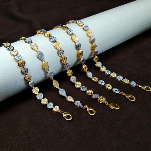Imitation designer Two-tone Bracelet