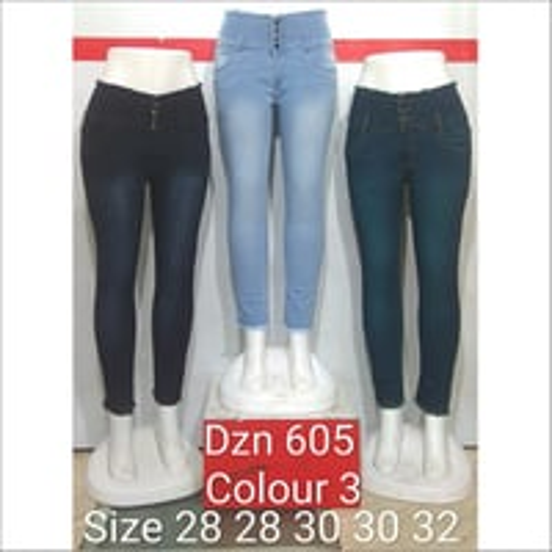Dzn 605 Colour 3 Women Jeans