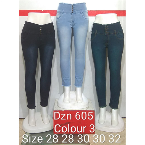 Dzn 605 Colour 3 Women Jeans