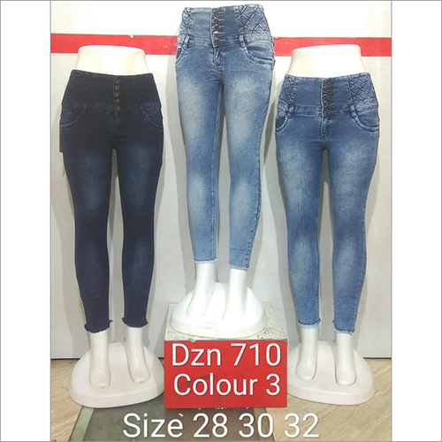 Dzn 710 Colour 3 Women Jeans