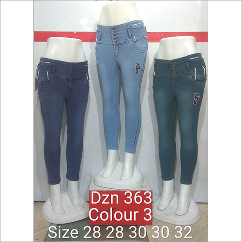 Dzn 363 Colour 3 Women Jeans
