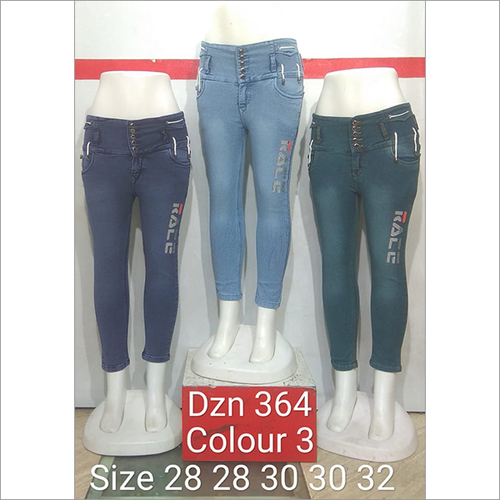 Dzn 364 Colour 3 Women Jeans