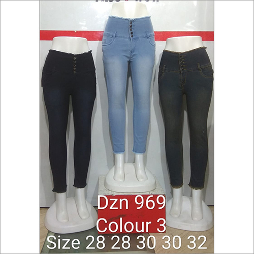 Dzn 969 Colour 3 Women Jeans