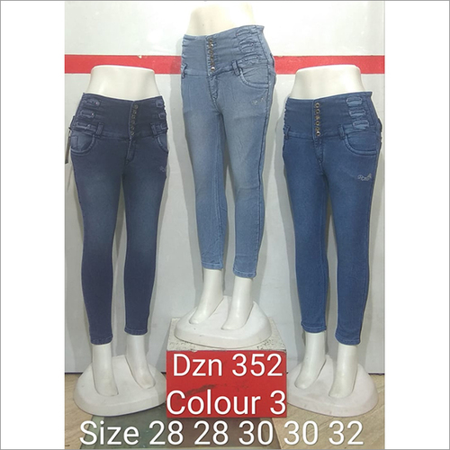 Dzn 352 Colour 3 Women Jeans