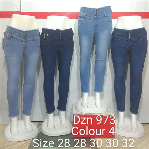 Dzn 973 Colour 4 Women Jeans