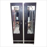 Double Door Metal Almirah With Mirror