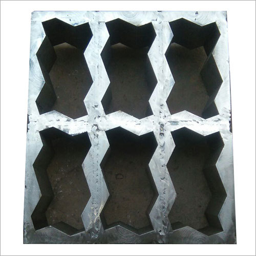 MS Unipaver Mould 6 Cavity