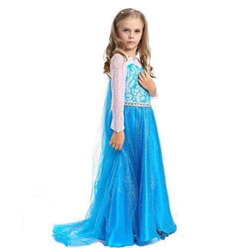 Frozen Doll Girls Costumes