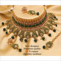 Wedding Choker Necklace Set