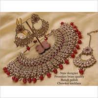 Metal Bridal Kundan Choker Set