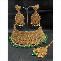 Fancy Kundan Choker Necklace Set