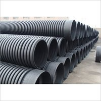 ID 200 mm Sewage DWC Pipe