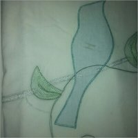 Embroidered Chinon Fabric