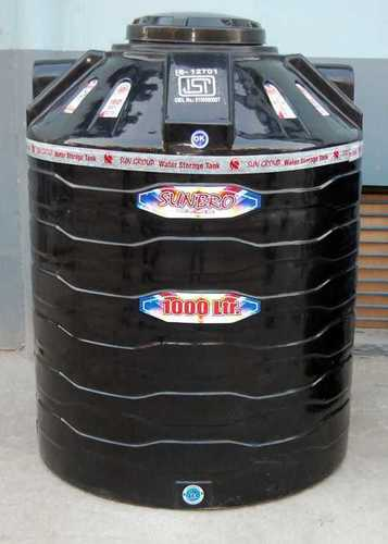 Plastic Water Storage Tank ISI