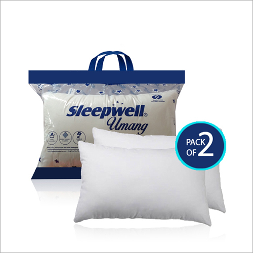 Pack Of 2 Umang Fiber Sleepwell Pillows