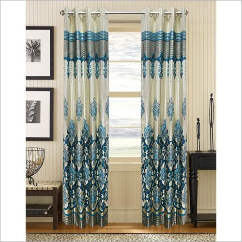 Silk Printed Curtain Fabric