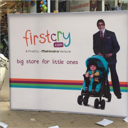 First Cry Brand Glow Sign Board