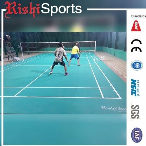 Indoor Synthetic Badminton Court Flooring