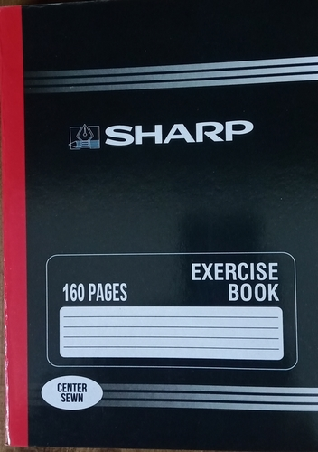 160 pages exercise book