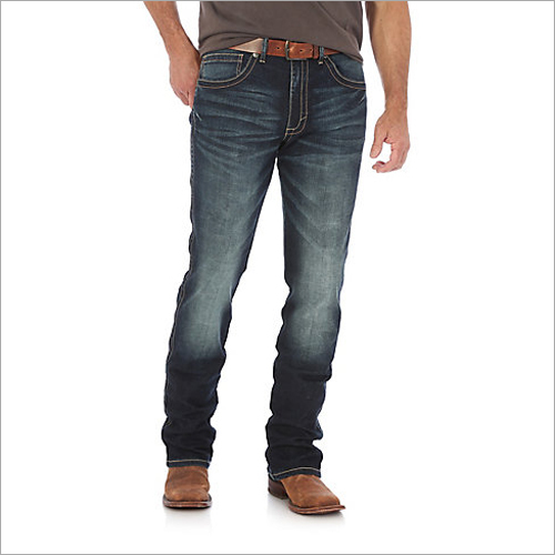 Mens Monkey Washed Jeans