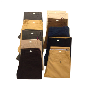 Mens Plain Cotton Trouser
