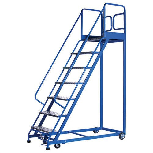 Mild Steel Wheel Step Ladder