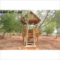 Natural Bamboo Hut