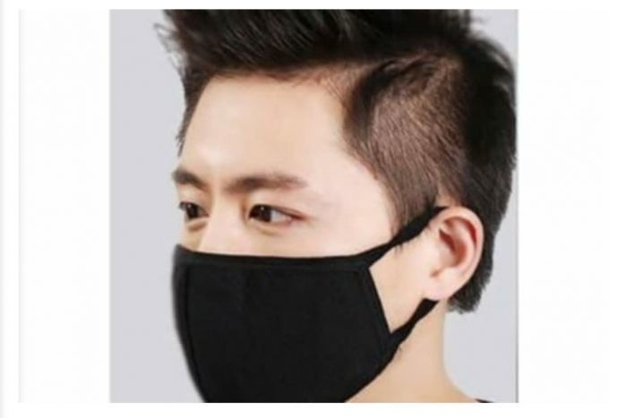 ANTI POLLUTION BLACK MASK