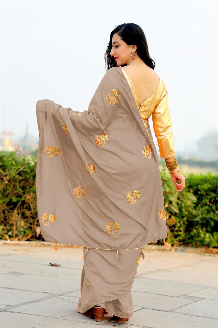 Pure Dola Silk Saree