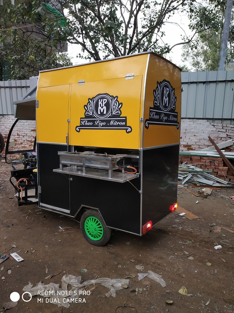E-Rickshaw Fast Food Cart