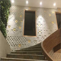 Beautified  Wall Panel with Gwalior White
