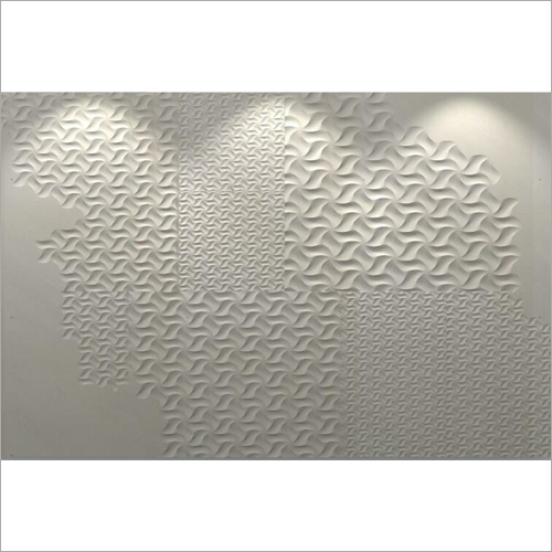 White Sandstone Designer Wall Panel