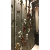 Marble Leaf Design Wall Panel