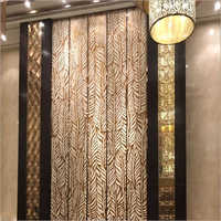Sandstone Leaf Design Wall Panel