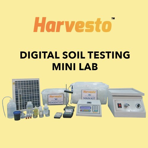 Digital Soil Testing Mini Lag