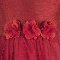 Red Waterfall Dress