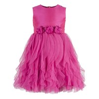 Kids Pink waterfall dress
