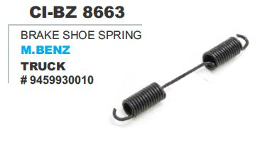 Brake Shoe Spring M Benz Truck