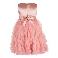 Kids Orange waterfall dress