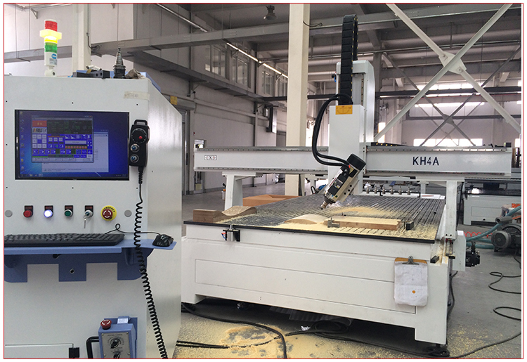 4 Axis Wood CNC Router Machine