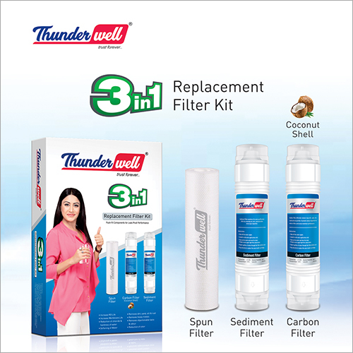 3 In 1 Replacement Filter Kit