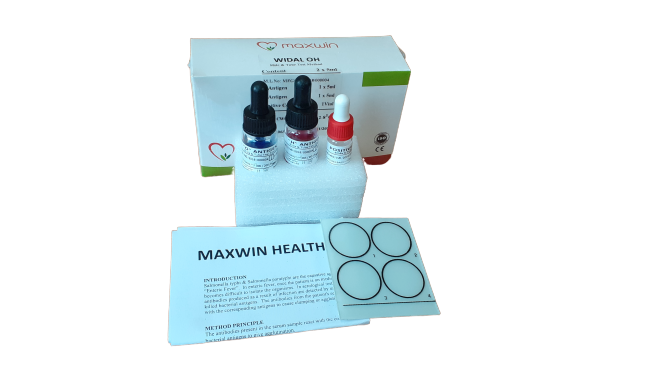 WIDAL OH Reagents | Typhoid Slide Test Kits