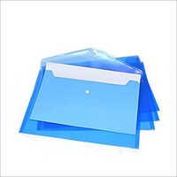 Plastic A4 Size Envelope