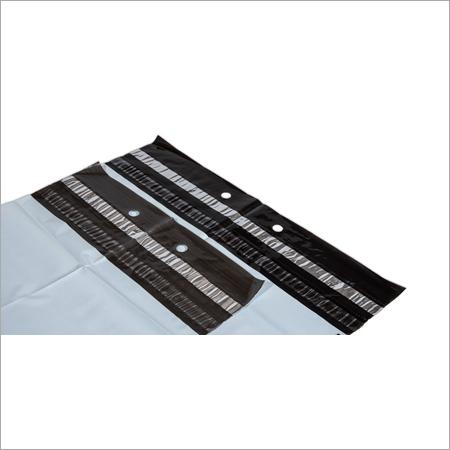 Plain White Plastic Courier Bag