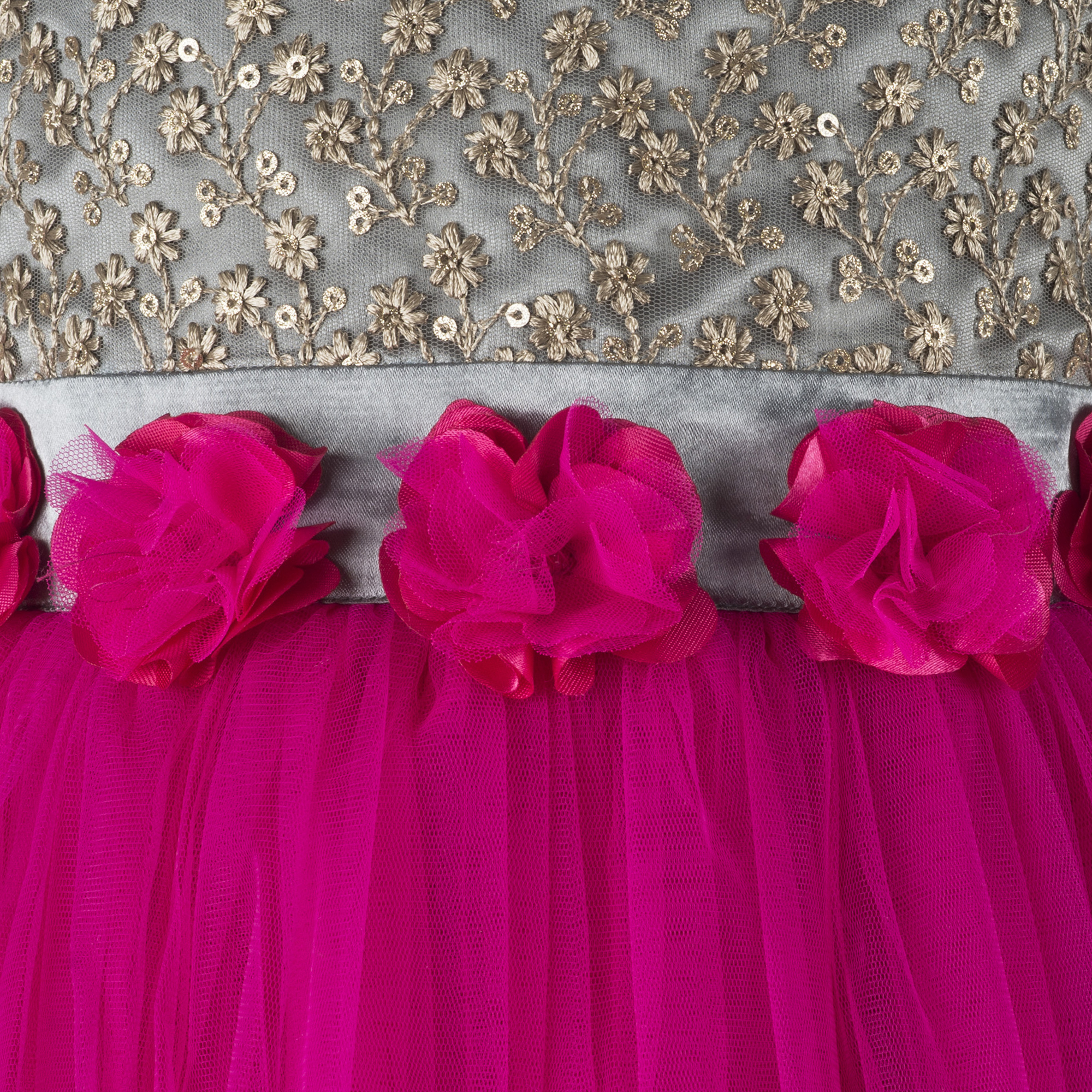 Kids  Pink Gown