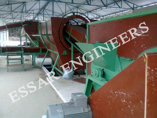 Coconut Fiber Extraction Machine